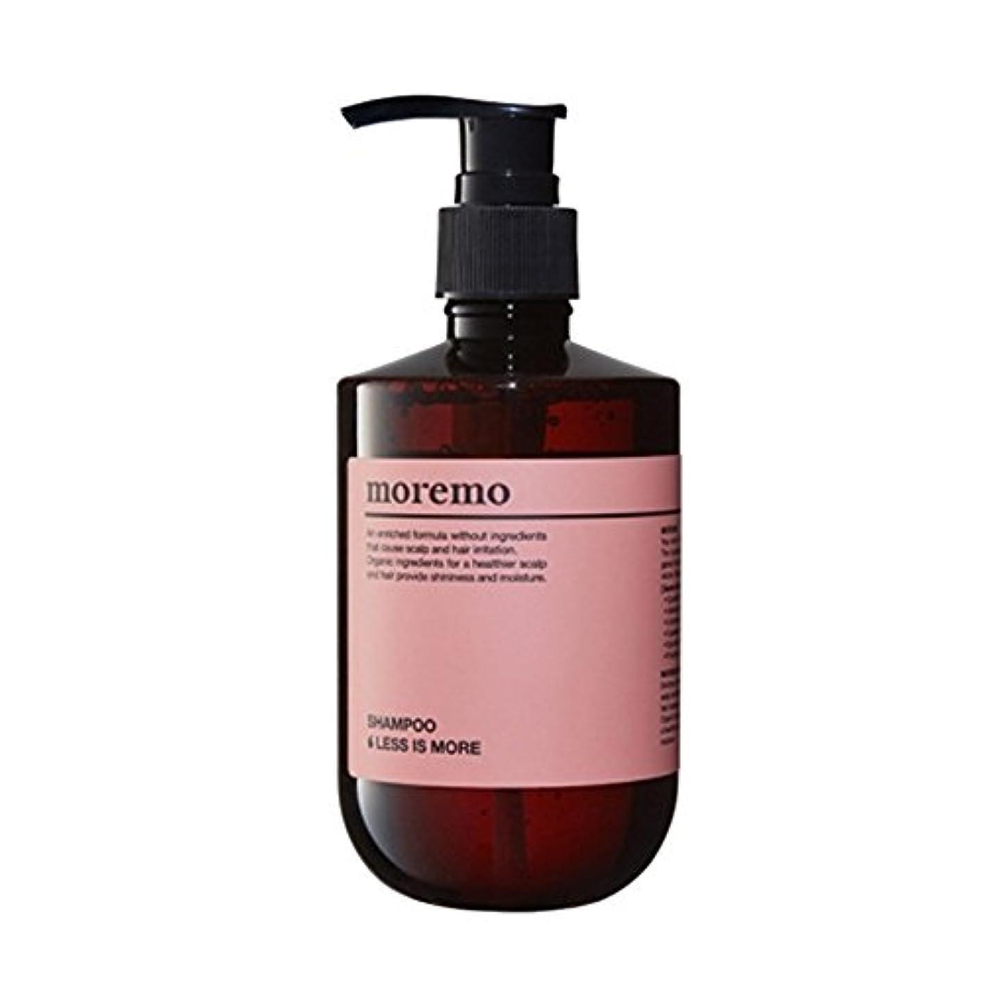 パシフィック光景アッパー【モレノ/ moremo]Hair SHAMPOO : LESS IS MORE (ソンサンモ、行く毛髪タイプ)/明後日某 シャンプー レススモア 300ml(海外直送品)