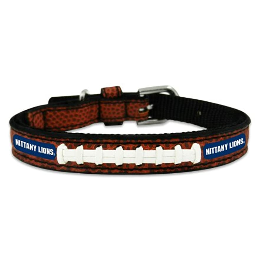 スムーズにマーチャンダイジング虎Penn State Nittany Lions Classic Leather Toy Football Collar