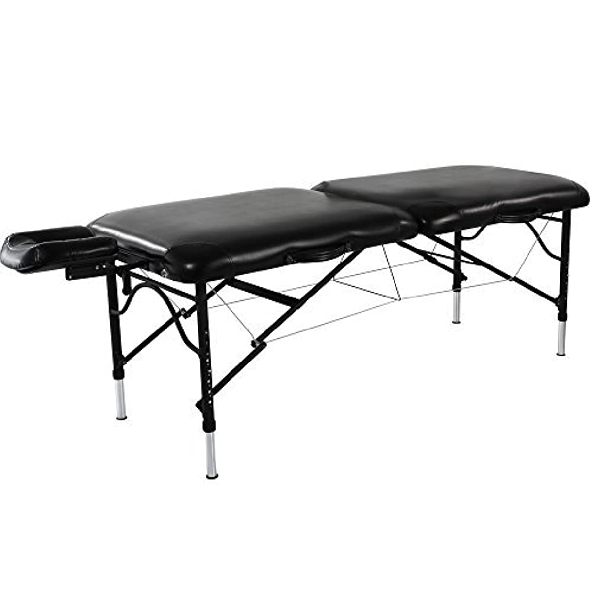 カフェテリアインシデントみなさんMaster Massage Stratomaster Ultralight Portable Massage Table Black 30 Inch [並行輸入品]