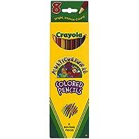 Crayola Llc Crayola多文化8 ct Colored 68-4208