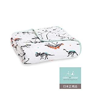aden + anais (エイデンアンドアネイ) 【日本正規品】 モスリンコットン クラシック ドリームブランケット(カラーポップ) dream blanket (color pop) 6136