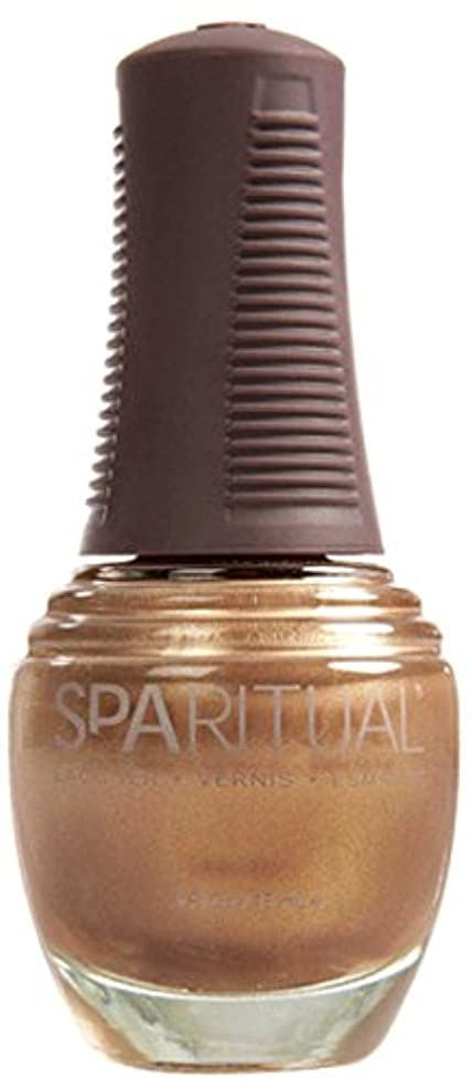 束東部利益SpaRitual スパリチュアル ネイルラッカー ゴールド ディガー15ml #80128