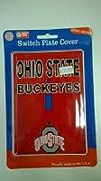 Ohio State Buckeyesライトスイッチカバー