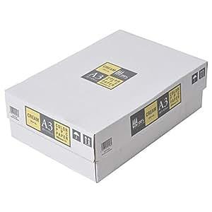 カラーコピー用紙 A3 500枚×3冊/箱 クリーム(イエロー)