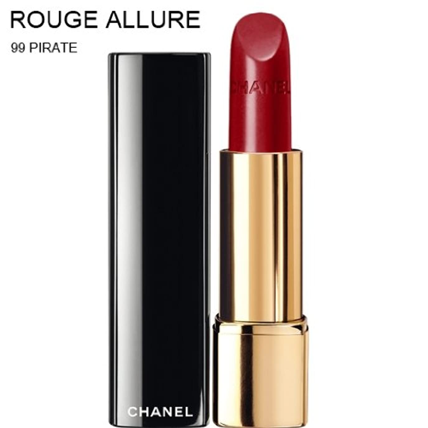 ギャラントリー形容詞花輪CHANEL ROUGE ALLURE INTENSE LONG-WEAR LIP COLOUR [並行輸入品] (99 PIRATE)