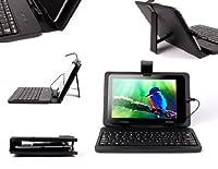 DURAGADGET Fauxレザー保護スタンドケースカバーwith Micro USBキーボード& Built Inスタンドfor Ployer momo7タブレットPC–7インチAndroid 4.1。1( Jelly Bean、WiFi ; ROCKCHIP rk3066デュアルコア–2x Cortex a9; Quad GPU–IPS 1024x 600静電容量式5ポイントタッチ画面、16GBストレージ、1GB ddr3メモリ、超薄8.6MMデザイン–HDMI & 3d出力–新しいGoogle Playインストール–1.3MPフロントカメラフラッシュ11.1–プリインストール–すべてiPlayers and Flashコンテンツ互換& Ployer Android 4.03