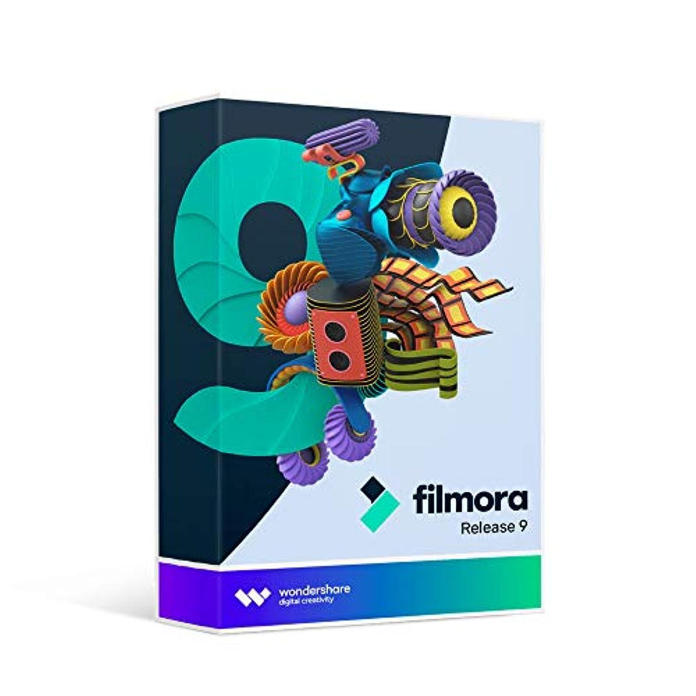 更新する細分化する移民Wondershare Filmora9 (Mac版) 動画編集ソフト 永久ライセンス ワンダーシェアー