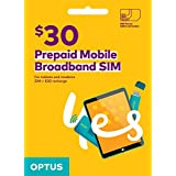 Optus Prepaid $30 Mobile Broadband SIM
