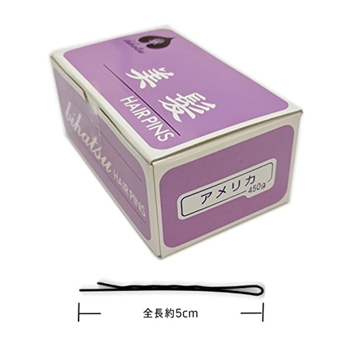 おしゃれじゃない立法おもちゃヒラヤマ ビハツ アメリカ (美髪) 450g約520本入り