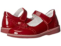 [キッドエクスプレス] Kid Express Kenzie (Toddler/Little Kid/Big Kid) フラットシューズ Cherry Patent 20 (US 5 Toddler)(12.1cm) - M [並行輸入品]