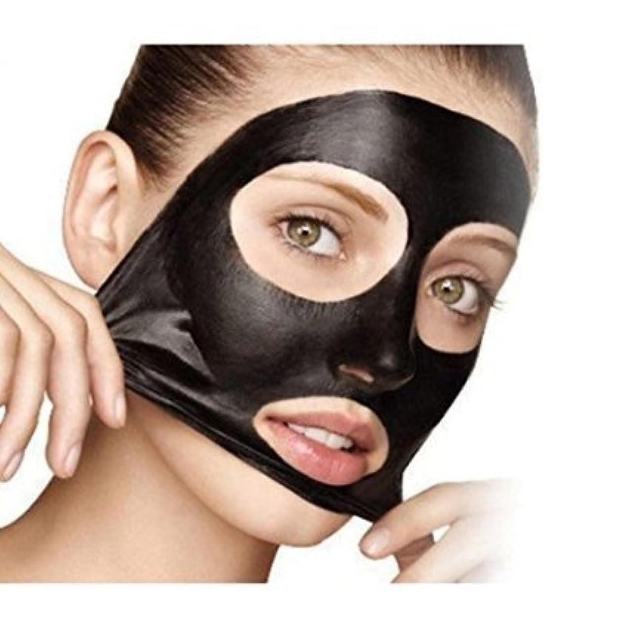 入札コウモリ発疹5×ミネラルマッドノーズポアクレンジングブラックヘッド除去マスク