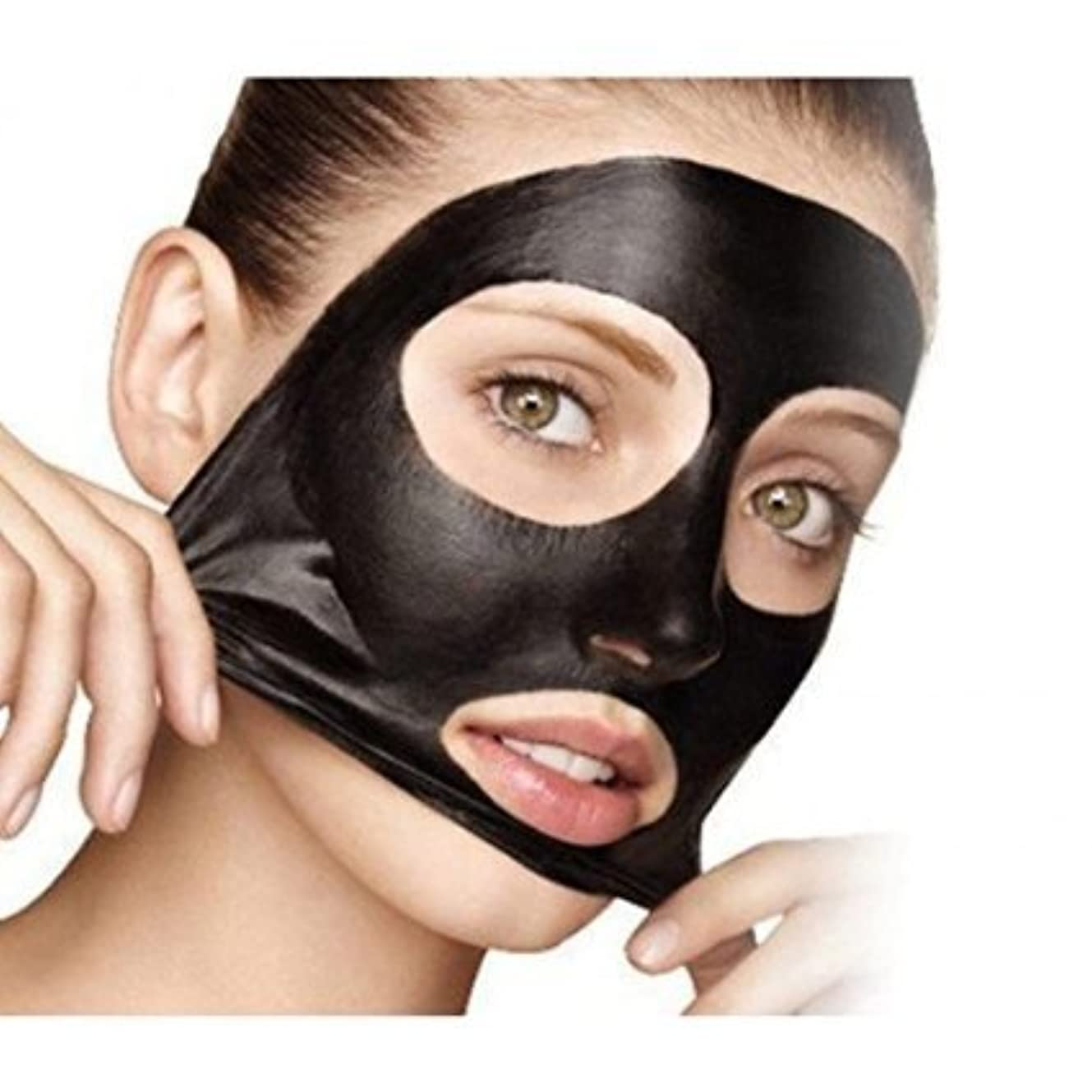 ドアミラー症状最初に5×ミネラルマッドノーズポアクレンジングブラックヘッド除去マスク