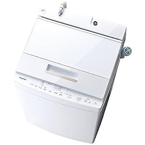 東芝 全自動洗濯機(DDインバーター洗濯機) グランホワイト AW-7D5(W) AW-7D5(W)