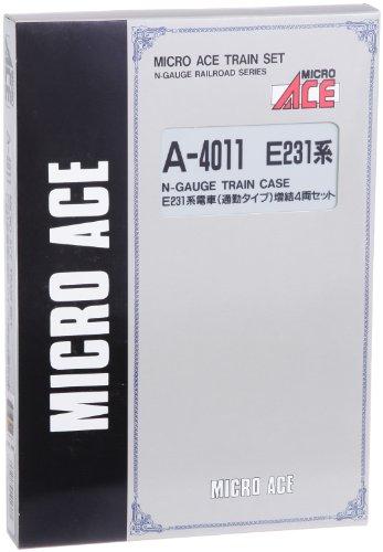 Nゲージ A4011 E231系通勤タイプ・中央・総武線色 増結4両