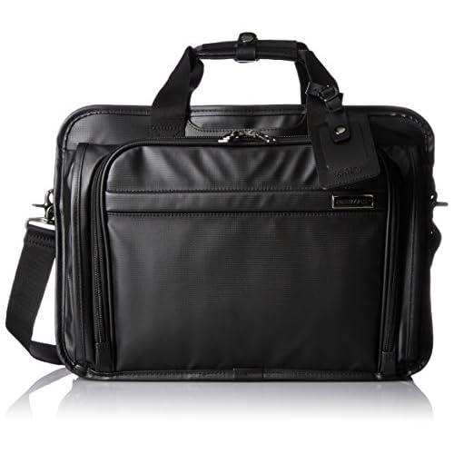 [バーマス] ビジネスバッグ コーティングブリーフ 42cmエキスパンダブル ファンクションギアプラス 60056-10 BK ブラック
