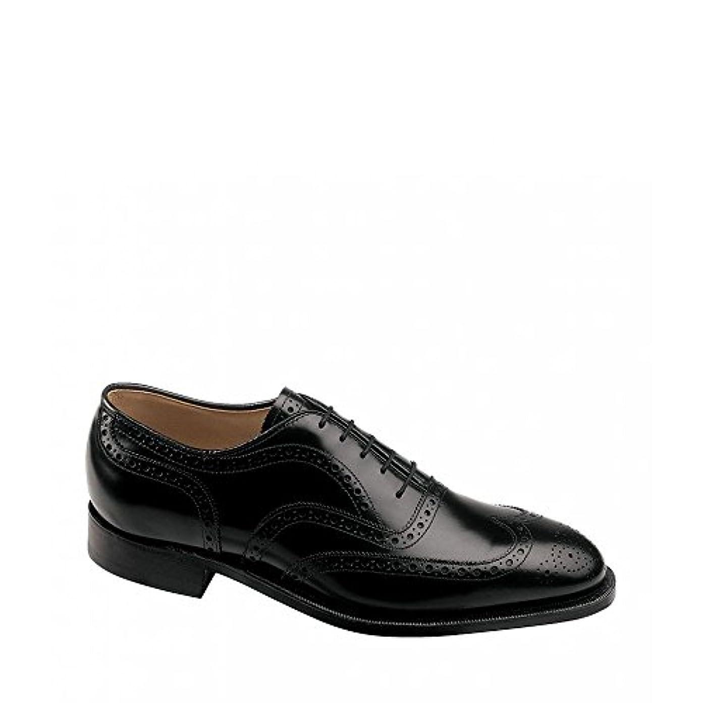 操作説教不格好(ジョンストン&マーフィー) Johnston & Murphy メンズ シューズ?靴 革靴?ビジネスシューズ Waverly Wingtip Detail Oxfords [並行輸入品]