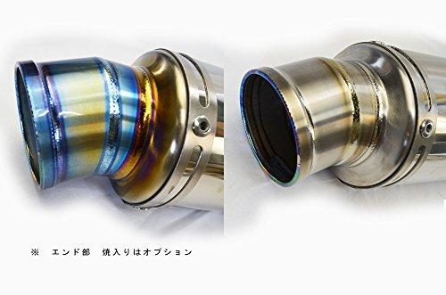 MONSTER1100/796/696 LCIラウンドチタンスリップオンマフラー