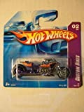 Hot Wheels (ホットウィール) '08 Custom Bikes 02/04 Airy 8 150/172 on Short Card ミニカー ダイキャスト 車 自動車 ミニチュア 模型 (並行輸入)