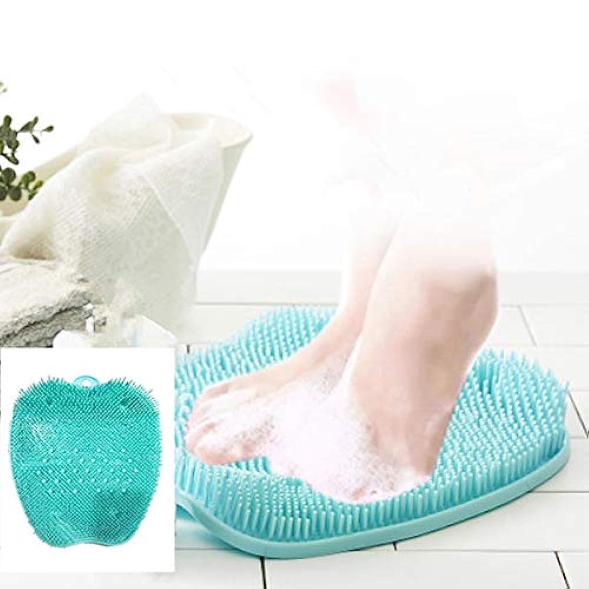 ラフレシアアルノルディ振るう連続的ROOFTOPS フットブラシ 足洗い 足洗いマット滑らない吸盤付き 消化 足裏ブラシ 足臭い 角質ケア フットケアブラシ 角質 臭い 防止 足裏マッサージ