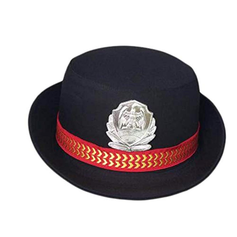 くびれた方程式変換するGeorge Jimmy 交通警官帽子 警察帽 女性用 セーラーキャップ コスチュームアクセサリー コスプレ-A13