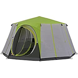 COLEMAN Cortes Octagon 8 Tent, Green, One Size