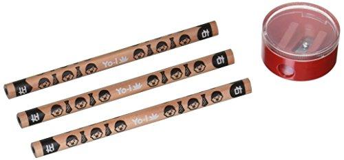 トンボ鉛筆 鉛筆 Yo-i おけいこセット 6B