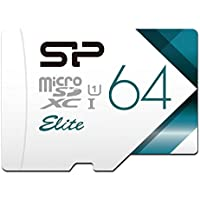 Silicon Power 64GB MicroSDXC UHS-1 Memory Card Limited Edition - with Adapter (SP064GBSTXBU1V20BS) [並行輸入品]