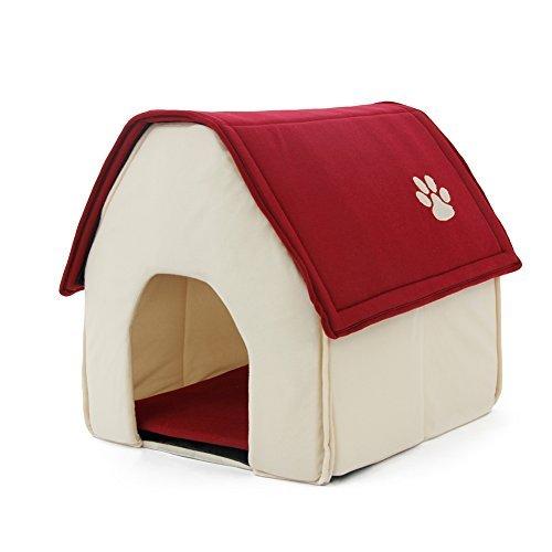 PAWZ Road ペットベッド 小屋 ハウス クッション付き ドーム型 犬 猫 洗える ペットハウ...