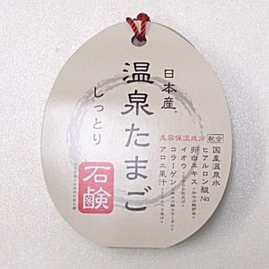 日本産 温泉たまご石鹸 しっとりタイプ 75g