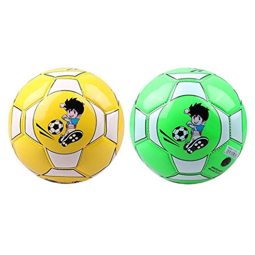 卒業いとここれまでMilageto 2xサッカーボールサイズ2サッカートレーニングボール、幼児用針付き