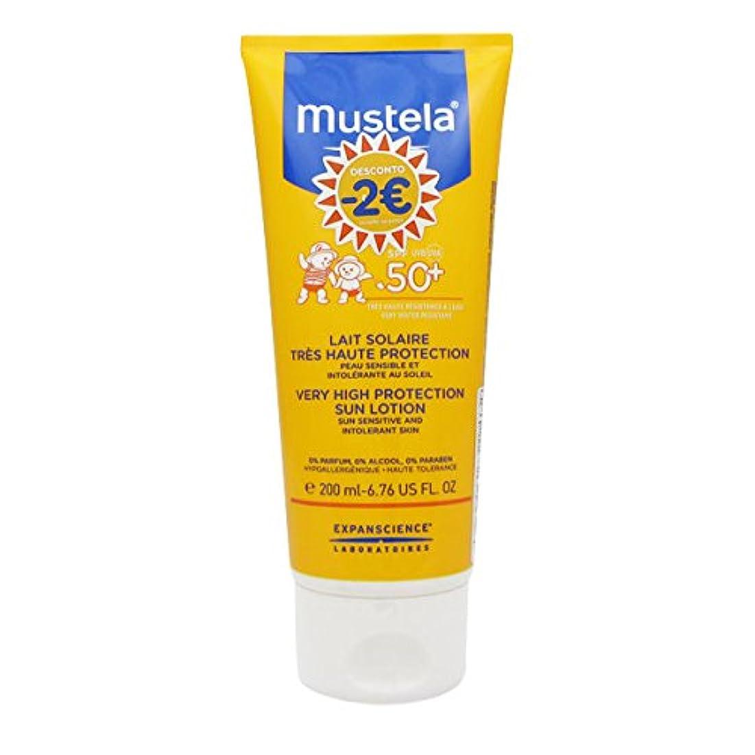 絶滅した週末控えるMustela Solar Milk Spf50 + 200ml [並行輸入品]
