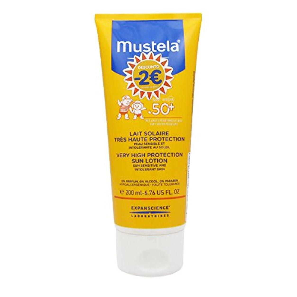 グリップパラシュート豆腐Mustela Solar Milk Spf50 + 200ml [並行輸入品]