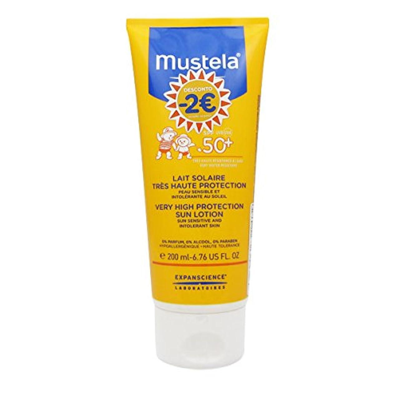 スペシャリスト立場日光Mustela Solar Milk Spf50 + 200ml [並行輸入品]