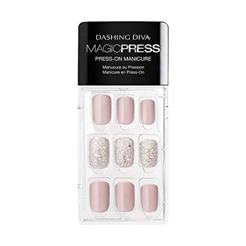 アカデミック地質学路地Dashing Diva - Magic Press - Press-On Manicure - Dream State - 30 Pieces