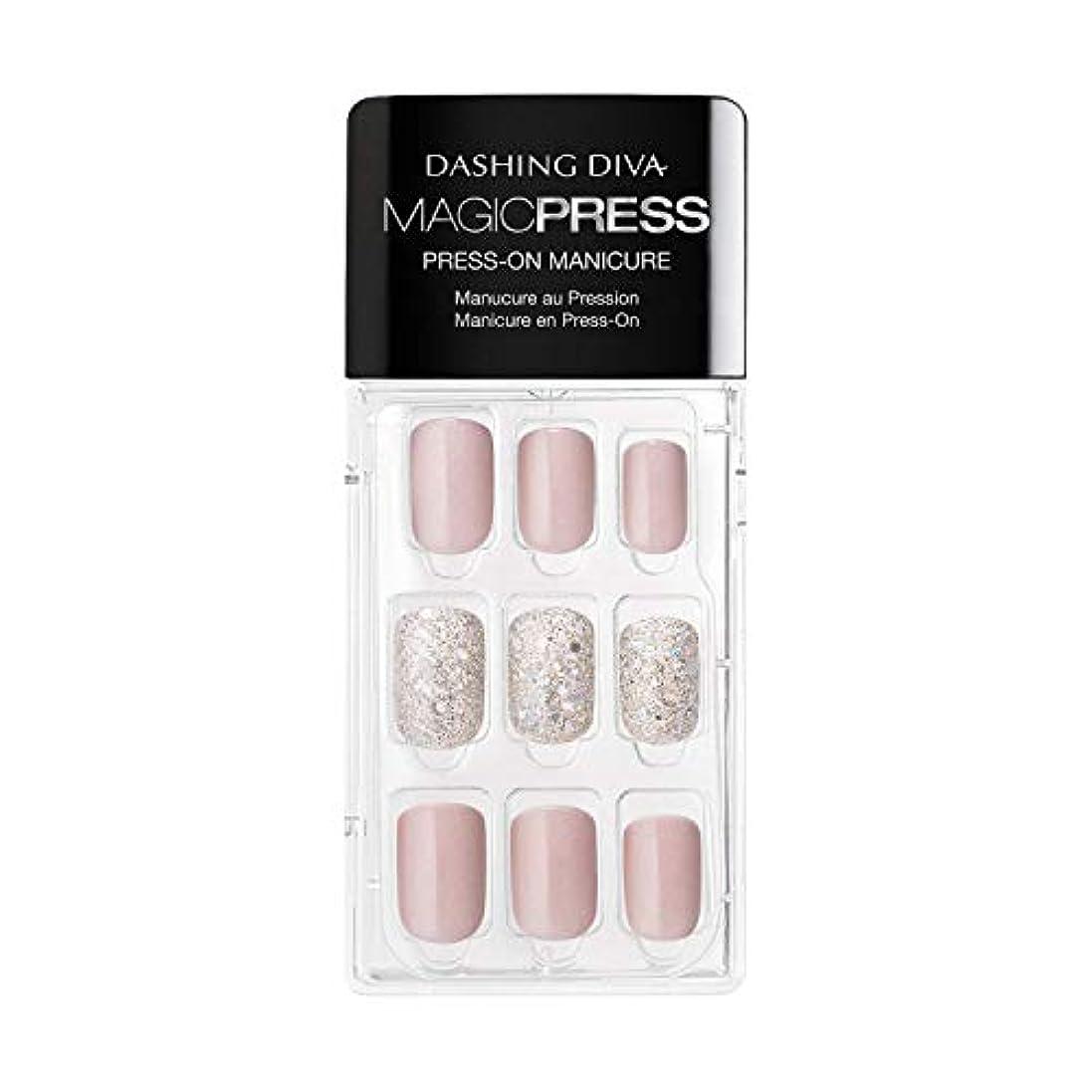 スタンド遵守する複製するDashing Diva - Magic Press - Press-On Manicure - Dream State - 30 Pieces