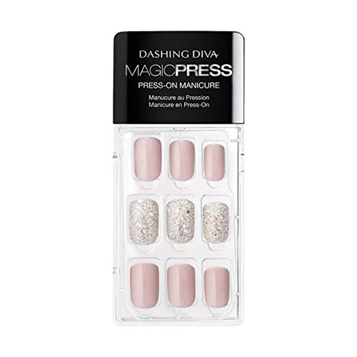 アーティスト二オペラDashing Diva - Magic Press - Press-On Manicure - Dream State - 30 Pieces