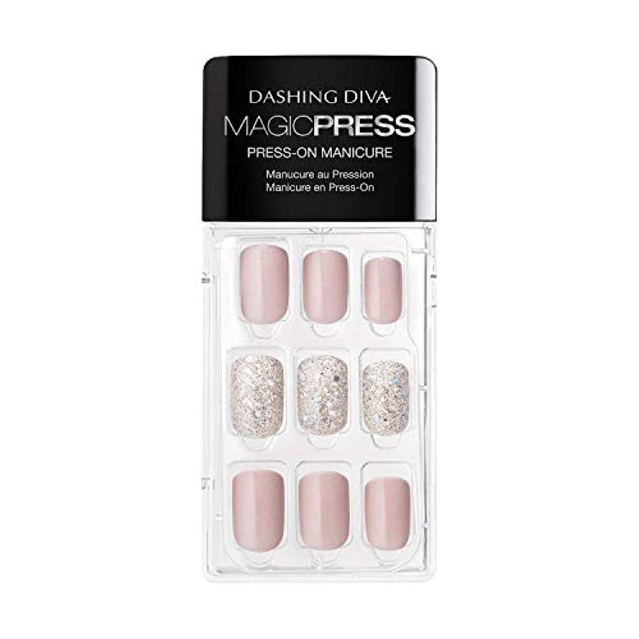 署名分配します衝撃Dashing Diva - Magic Press - Press-On Manicure - Dream State - 30 Pieces