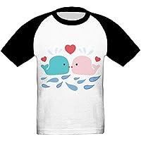 イルカ かっこいい ベビー フロントプリント半袖 Tシャツ快適 子供 夏 トップ おもしろい 上着