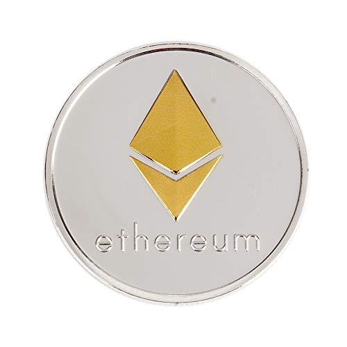 イーサリアムコイン ゴールドメッキ コピーコイン非通貨レプリカアートコレクションギフト仮想通貨