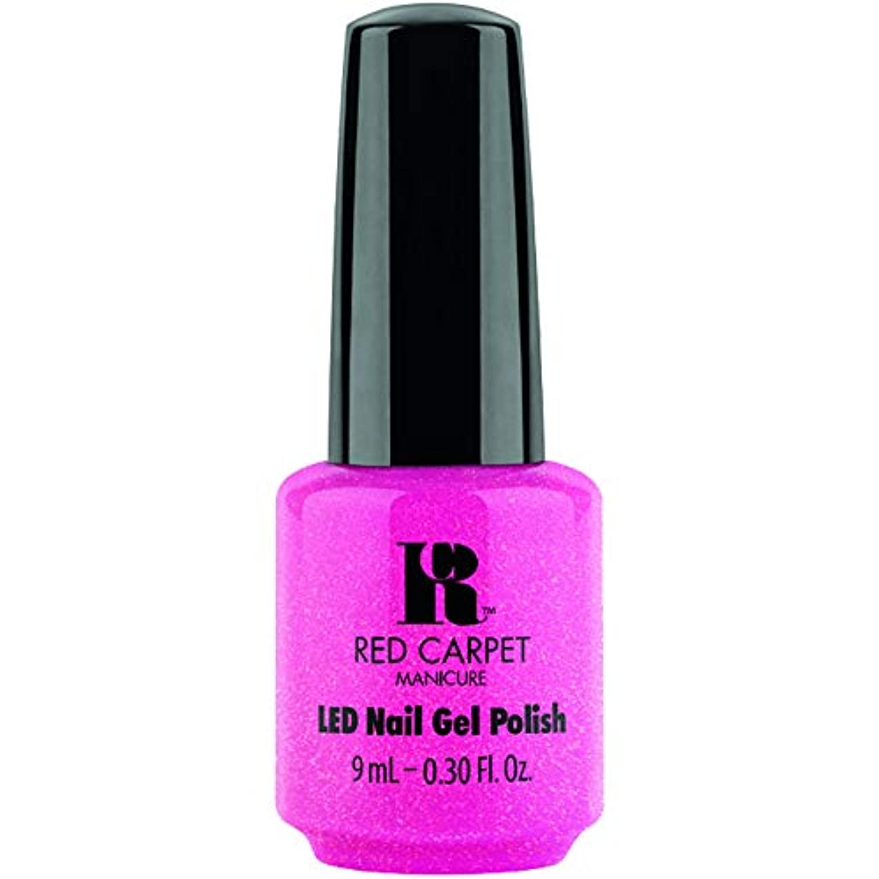 北方二層広いRed Carpet Manicure - LED Nail Gel Polish - A-Muse Me - 0.3oz / 9ml