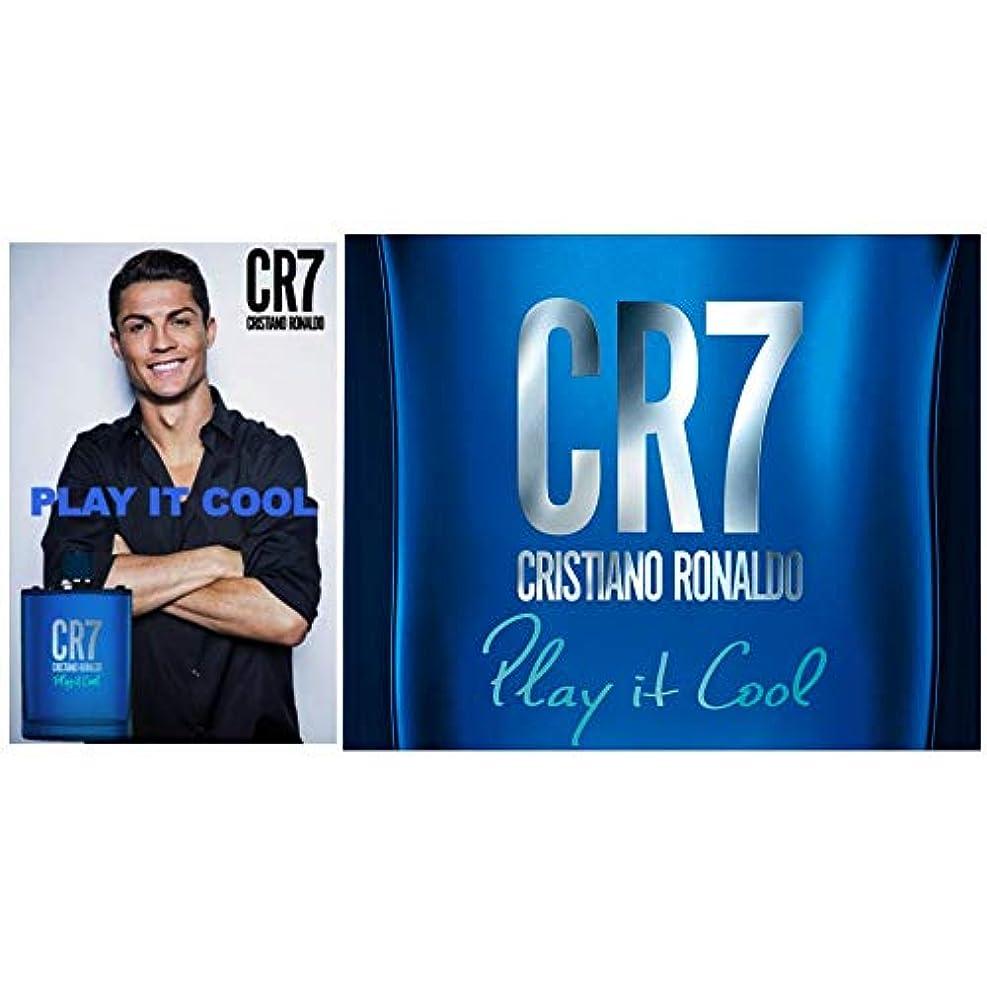 眉をひそめるステージサルベージCristiano Ronaldo(クリスティアーノ ロナウド) クリスティアーノ ロナウド CR7 プレイイットクール バイ クリスティアーノ ロナウド EDT アロマティック?フゼア 50ml