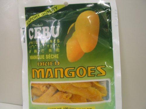 CEBU DRIED MANGOES 100g セブ ドライマンゴー ドライフルーツ