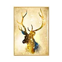 Paintings Canvas Wall Art, Animals Pictures Painting, Print Stretched And Framed, Modern Living Room Bedroom Decorations (20.4 * 28.3Inch),A,20.4Inch