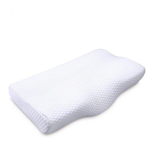 NURSAL 低反発まくら 人間工学設計健康まくら 肩こり 首こり 対策 頚椎サポート いびき防止 ストレス解消 頭痛改善 通気性良く 仰向き横向き対応 ヘルスケア枕 快眠安眠 洗えるまくら ピロー