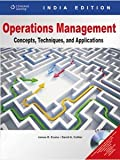 Cover of Operations Management Concepts, Techniques And Applications W/Cd,1Ed