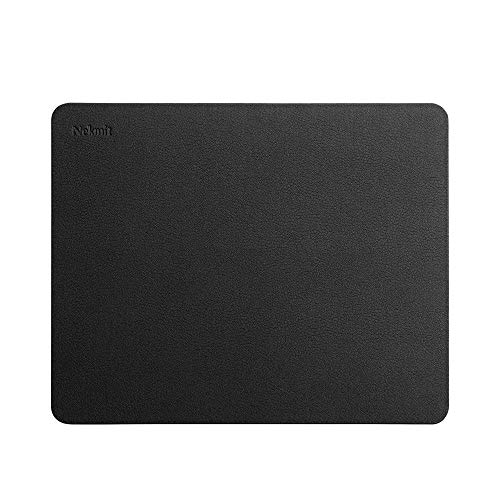 Nekmit レザーデスクブロッター保護マットパッド 34インチx16インチ 10.5'' x 8.5''