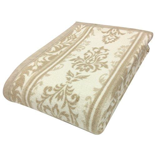 京都西川 毛布 シルク 絹 日本製 天然繊維 上質 美しい光沢...