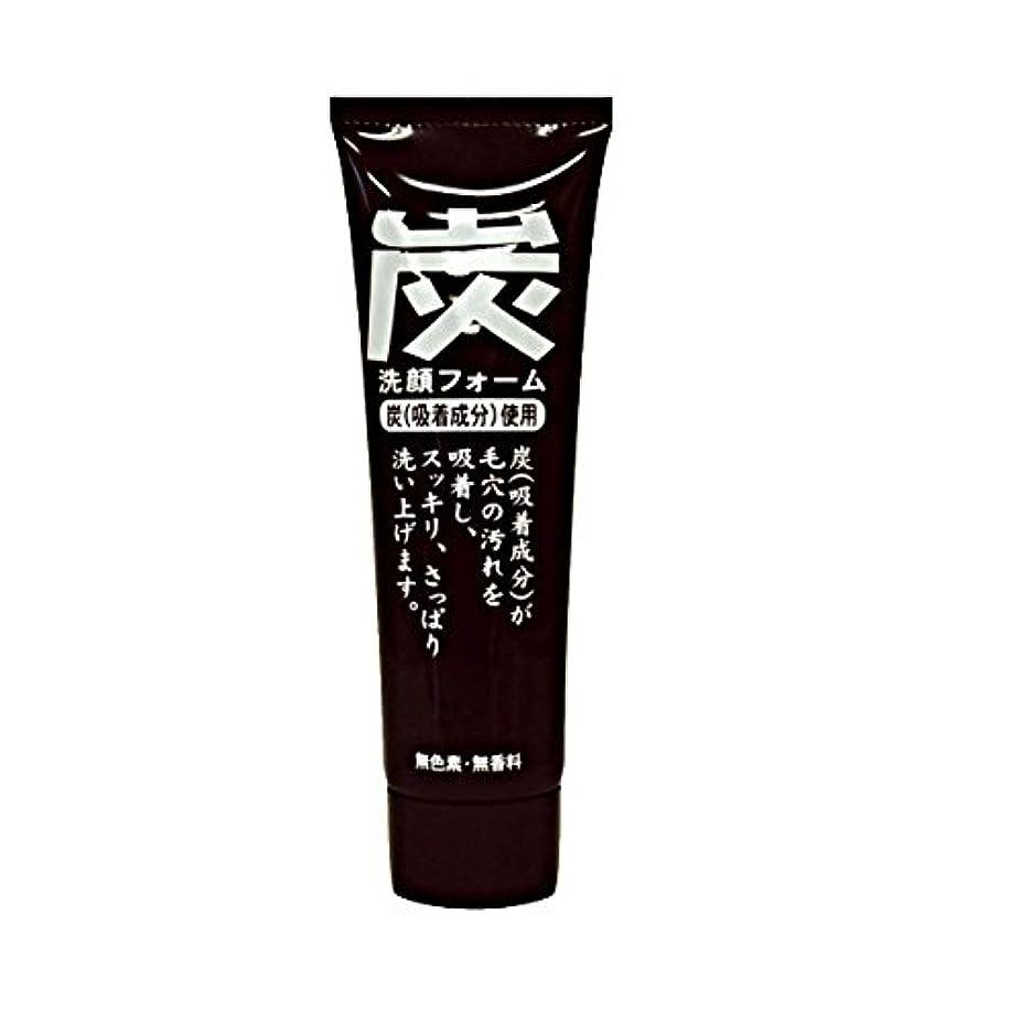 純ケミファ 炭 ジュンラブ MC洗顔フォーム 120g
