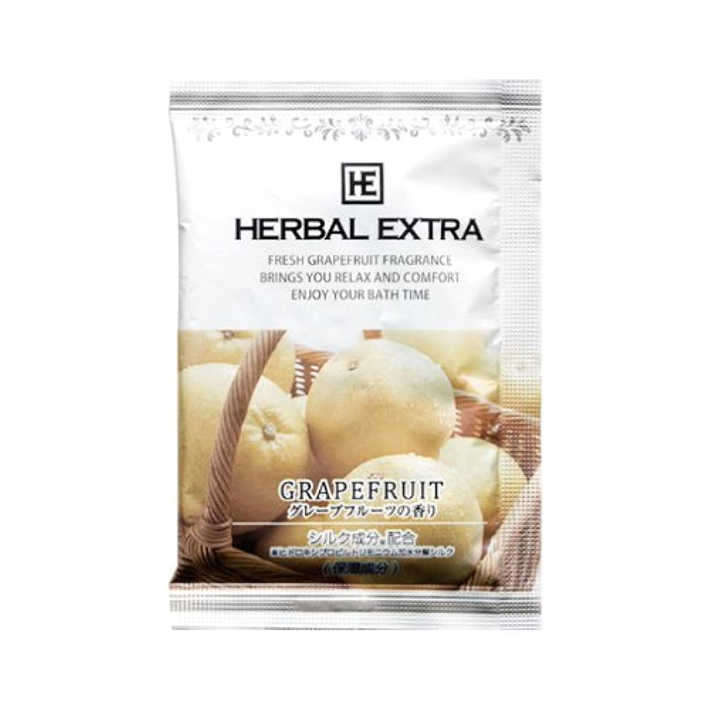 農奴殉教者バレルハーバルエクストラ入浴剤 グレープフルーツの香り 40包