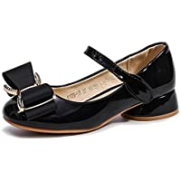 Bumud Girls' Mary Jane Shoes